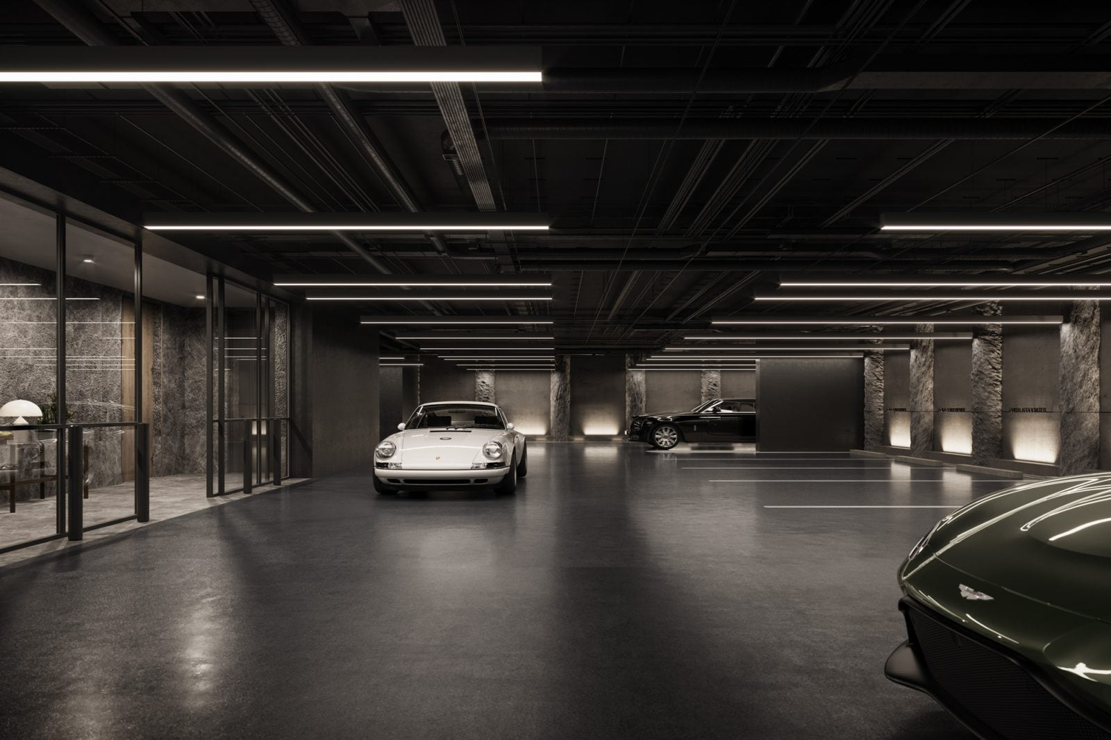 Artist's Impression – Carpark