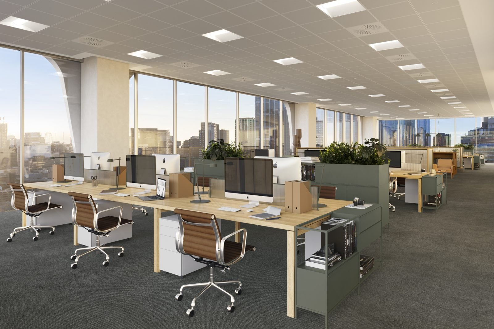 Artist's impression – Standard Office Interior
