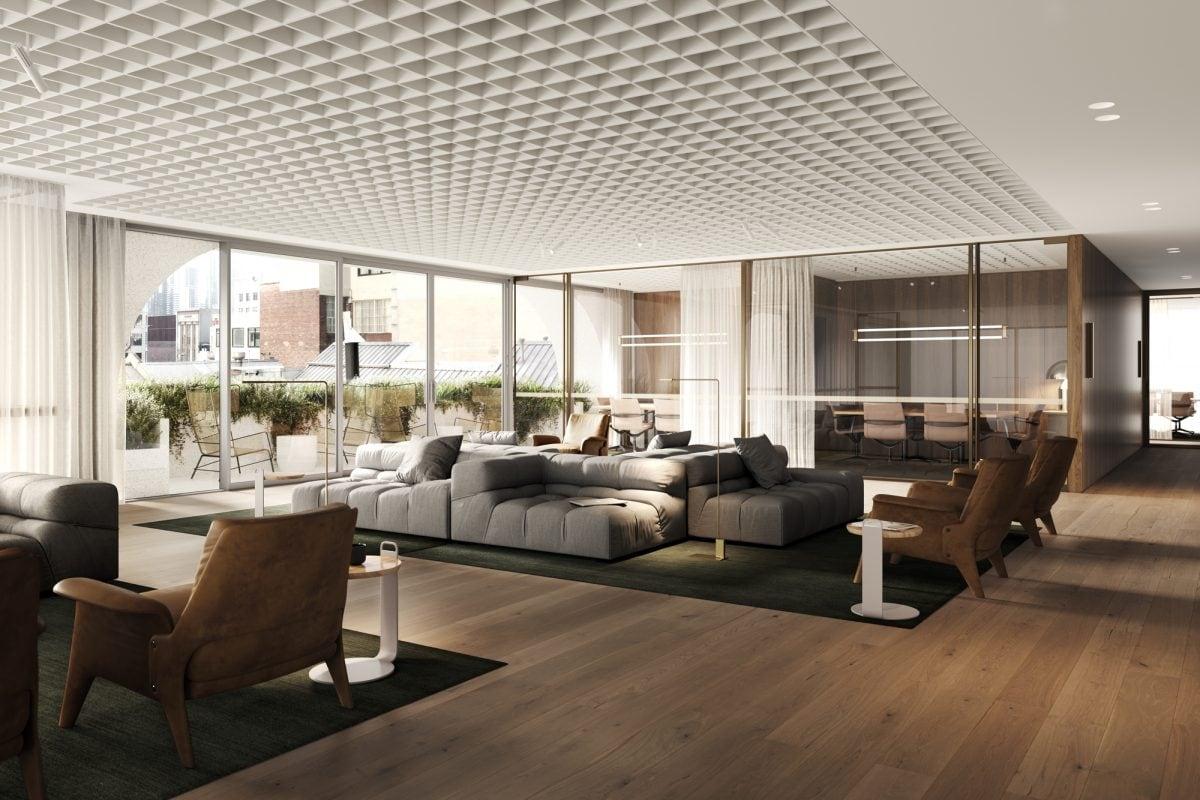 Artist's impression – 130 Business Lounge