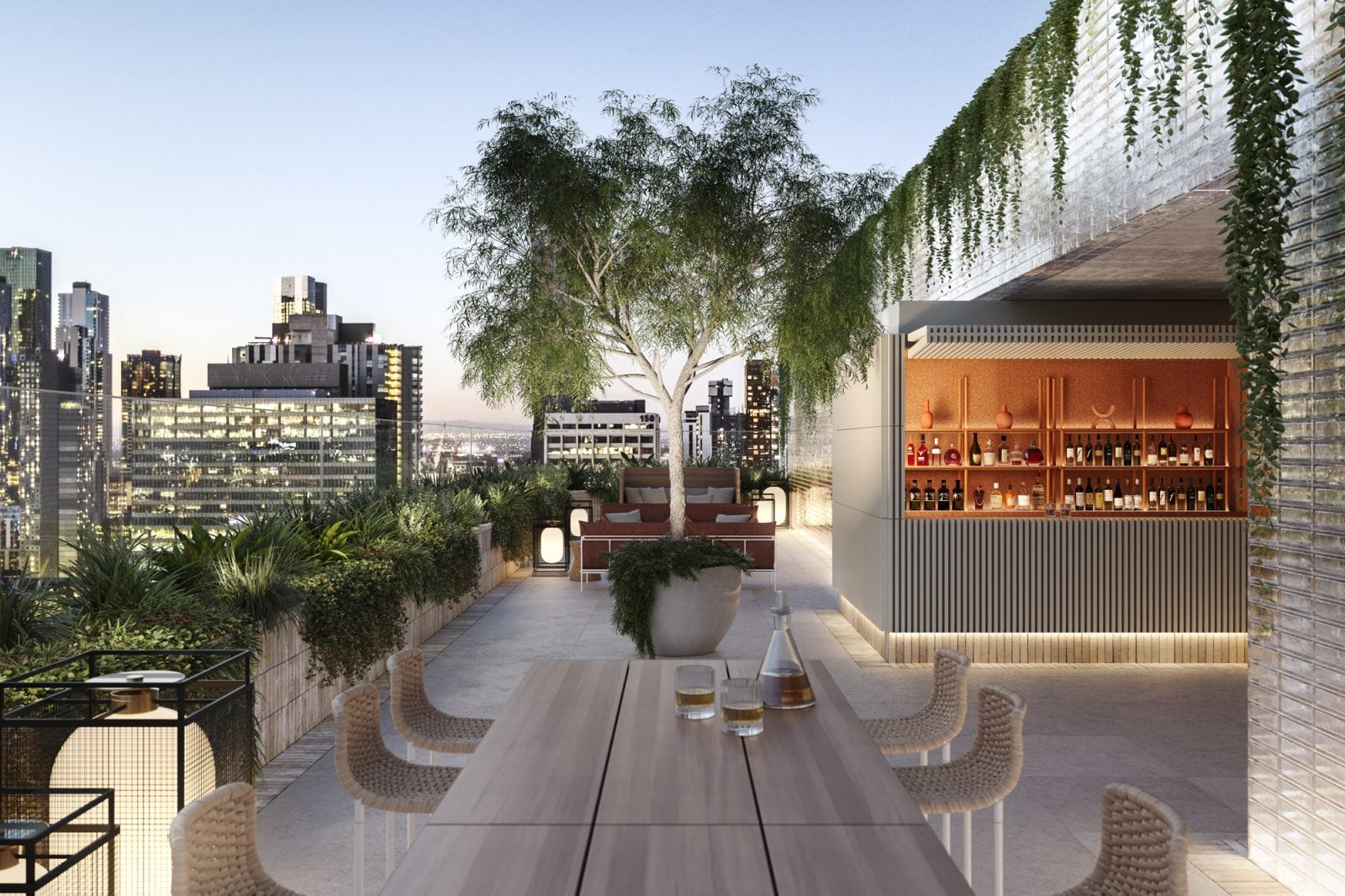Artist's impression – Rooftop Terrace (Bar subject to planning approval)