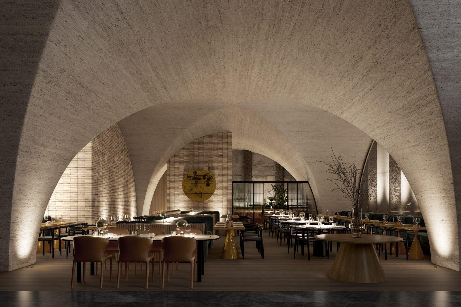 Artist's impression – Restaurant Concept