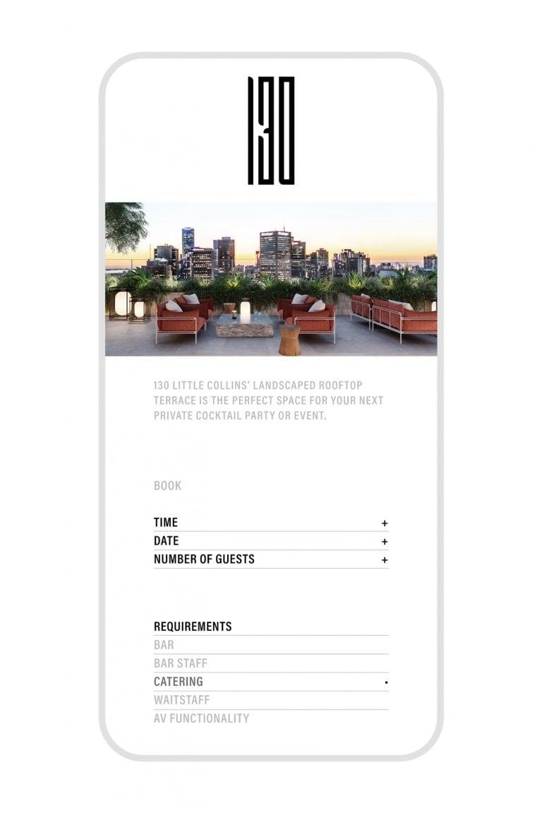 130 Building app concept