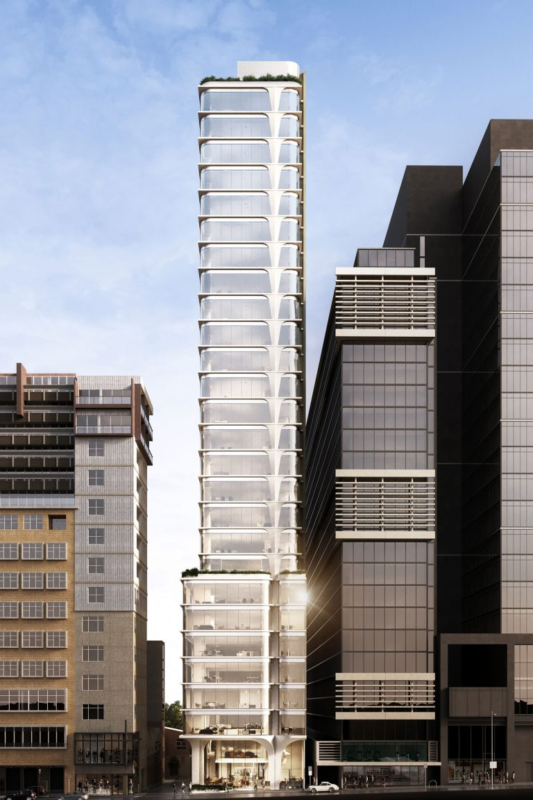 Artist's impression – Building Façade, Little Collins Street